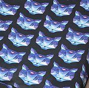 Материалы для творчества ручной работы. Ярмарка Мастеров - ручная работа Футер в наличии. Космос. Handmade.