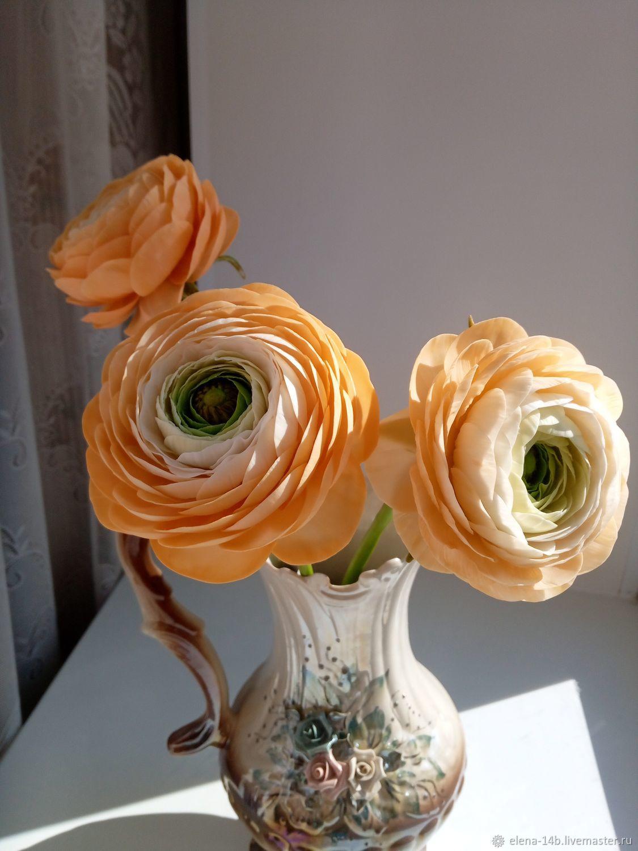 Ранункулюс (лютик азиатский), Цветы, Бородино,  Фото №1