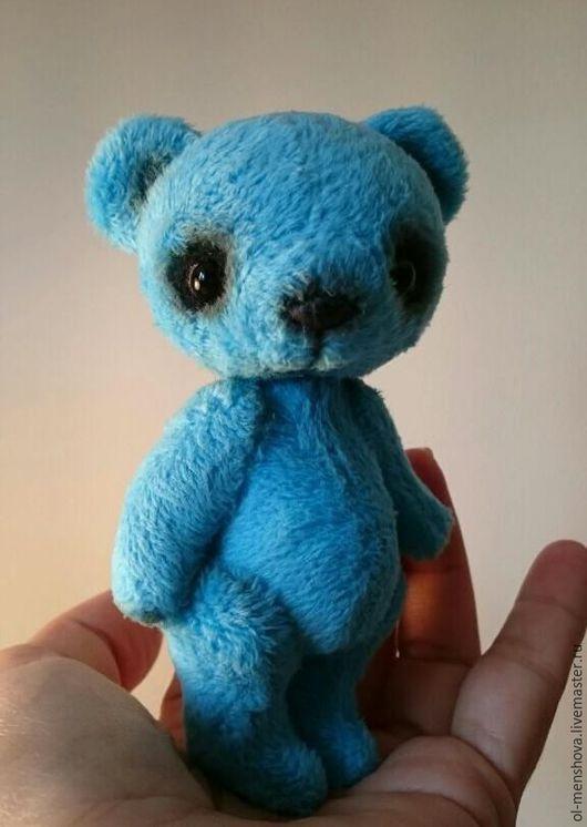 Мишки Тедди ручной работы. Ярмарка Мастеров - ручная работа. Купить Смурфи. Handmade. Тёмно-бирюзовый, интерьерная игрушка, шерсть
