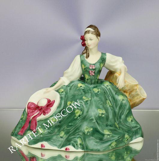 Винтажные предметы интерьера. Ярмарка Мастеров - ручная работа. Купить Девушка Elyse Royal Doulton Англия 49. Handmade. Раритет