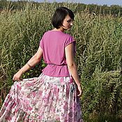 """Одежда ручной работы. Ярмарка Мастеров - ручная работа Комплект""""Розовые цветы""""(1). Handmade."""