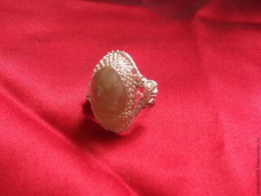"""Кольца ручной работы. Ярмарка Мастеров - ручная работа. Купить Кольцо с агатом """"Сияние"""". Handmade. Кольцо, эксклюзивный подарок"""