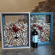 Копилки ручной работы. Ярмарка Мастеров - ручная работа Копилка для пробок Wine. Handmade.