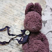 Куклы и игрушки ручной работы. Ярмарка Мастеров - ручная работа Зайка для путешествий Сливка. Handmade.