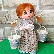 Куклы и игрушки handmade. Livemaster - original item Jointed doll: She. Handmade.