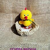 Куклы и игрушки ручной работы. Ярмарка Мастеров - ручная работа Цыпленок. Handmade.