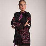 Одежда ручной работы. Ярмарка Мастеров - ручная работа Бохо платье женское вышитое, этно стиль  Vita Kin,Bohemian. Handmade.