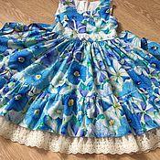 Работы для детей, handmade. Livemaster - original item American cotton dress