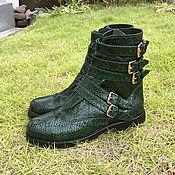 Обувь ручной работы handmade. Livemaster - original item Women`s Python ULTIMATE Boots. Handmade.
