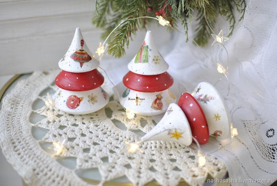 Musical Christmas tree-tumbler small.' Christmas', Tree, Moscow,  Фото №1