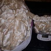 Ткани ручной работы. Ярмарка Мастеров - ручная работа Шелк Малбери (Mulberry) 100 г. Handmade.