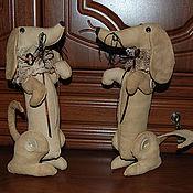 Куклы и игрушки ручной работы. Ярмарка Мастеров - ручная работа Такса. Handmade.