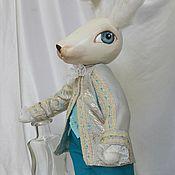 Куклы и игрушки ручной работы. Ярмарка Мастеров - ручная работа Кролик Элегантный. Handmade.