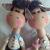 Куклы и игрушки ручной работы. Ярмарка Мастеров - ручная работа Парочка жирафов.. Handmade.