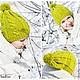 Шапки ручной работы. Ярмарка Мастеров - ручная работа. Купить Шапка с косами.. Handmade. Орнамент, шапка на весну, семейныйлук