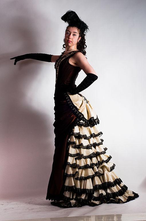 """Платья ручной работы. Ярмарка Мастеров - ручная работа. Купить Бальное платье """"Шоколад"""". Handmade. Бальное платье, историческое платье"""