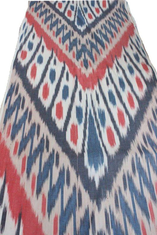 Шитье ручной работы. Ярмарка Мастеров - ручная работа. Купить Ткань ручного ткачества Икат. Handmade. Икат, бохо стиль