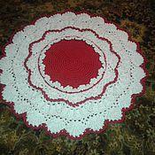 Для дома и интерьера ручной работы. Ярмарка Мастеров - ручная работа красно-белый цветок. Handmade.