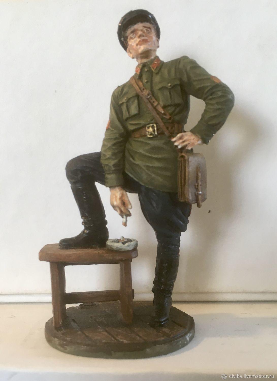 Military miniature 54 mm, Military miniature, St. Petersburg,  Фото №1