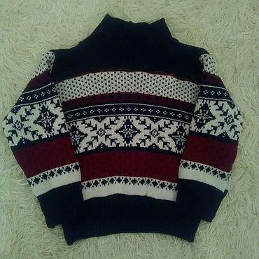 Одежда ручной работы. Ярмарка Мастеров - ручная работа Рост 92, свитер детский для мальчика.. Handmade.