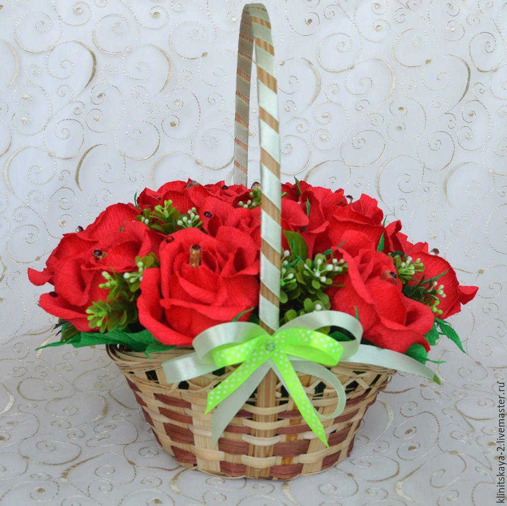 Для девушки подарок из конфет