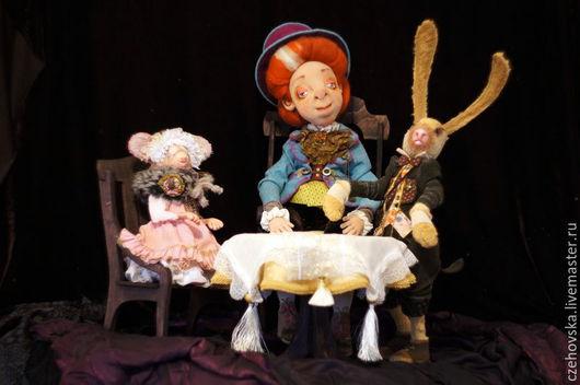 Коллекционные куклы ручной работы. Ярмарка Мастеров - ручная работа. Купить Безумное Чаепитие. Handmade. Разноцветный, алиса в стране чудес