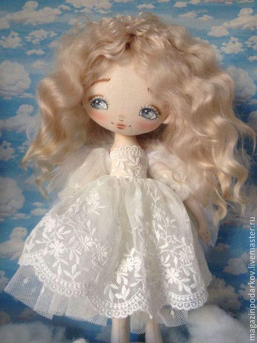 Коллекционные куклы ручной работы. Ярмарка Мастеров - ручная работа. Купить Интерьерный Ангелочек. Handmade. Кукла ручной работы, ангел