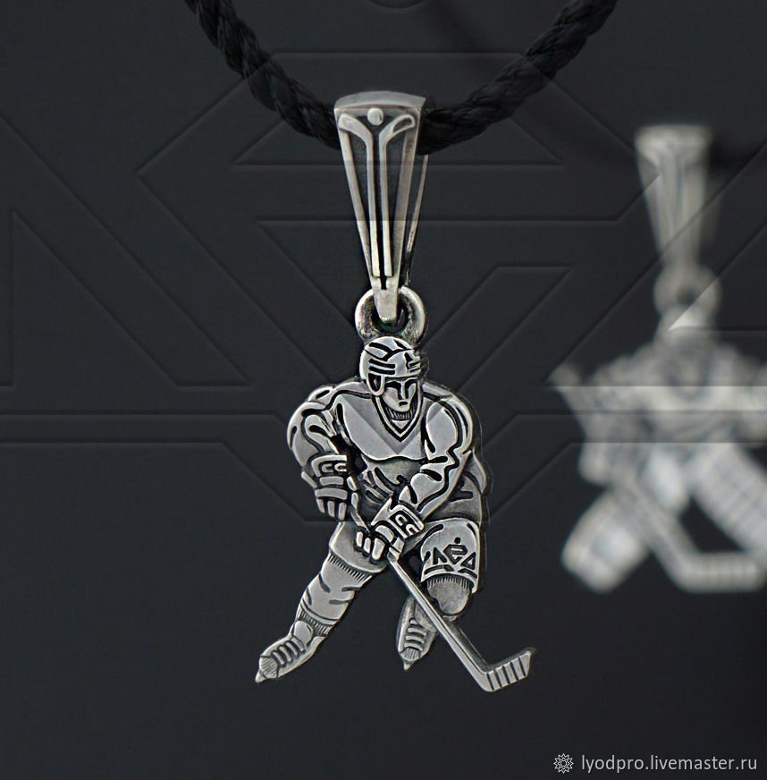 New HOCKEYPLAYER pendant !!!, Pendants, St. Petersburg,  Фото №1
