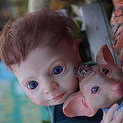 Куклы и игрушки ручной работы. Ярмарка Мастеров - ручная работа крошка эльф-Ждан. Handmade.