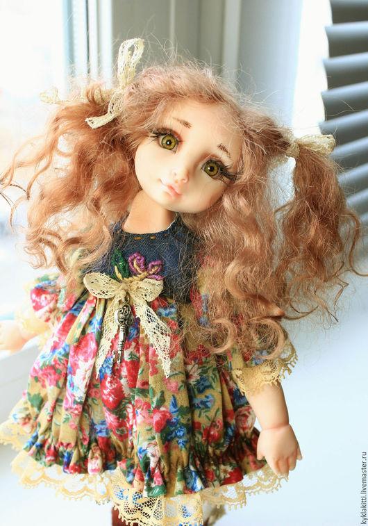 Коллекционные куклы ручной работы. Ярмарка Мастеров - ручная работа. Купить Марьяна. Handmade. Комбинированный, американский хлопок