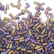 Бисер ручной работы. Ярмарка Мастеров - ручная работа Стеклярус TOHO 3 мм 615 Matte-Color Iris - Purple японский бисер. Handmade.