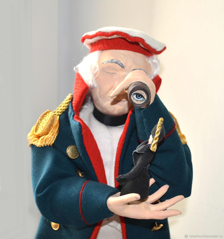 Кукла военная портретная Кутузов для коллекционеров, Портретная кукла, Тюмень,  Фото №1