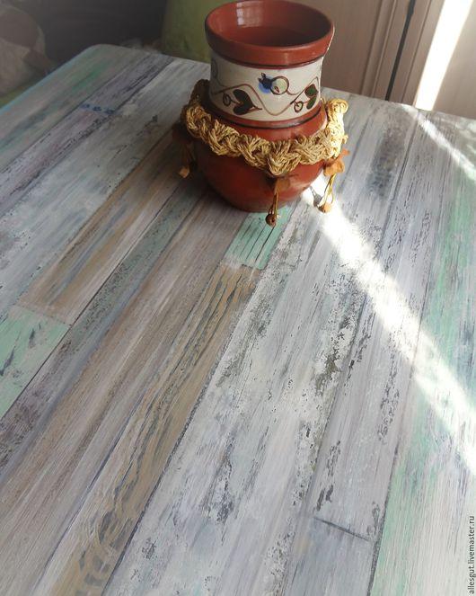 Мебель ручной работы. Ярмарка Мастеров - ручная работа. Купить Деревянный стол  СТАРАЯ ДАЧА. Handmade. Стол из дерева, сосна