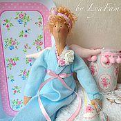 Куклы и игрушки ручной работы. Ярмарка Мастеров - ручная работа Хранительница ватных дисков (для Екатерины). Handmade.