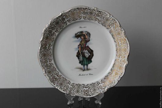 Винтажная посуда. Ярмарка Мастеров - ручная работа. Купить Winterling Bavaria, Германия,декоративная тарелка, винтажный фарфор. Handmade.