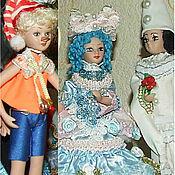 Куклы и игрушки handmade. Livemaster - original item Pinocchio, Piero, Malvina-dolls from a fairy tale. Handmade.
