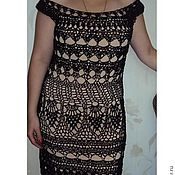 Одежда ручной работы. Ярмарка Мастеров - ручная работа Вечернее платье из люрекса. Handmade.