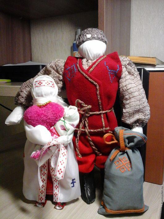 Народные куклы ручной работы. Ярмарка Мастеров - ручная работа. Купить Оберег Семья. Handmade. Семейный оберег, багуч