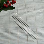 Материалы для творчества ручной работы. Ярмарка Мастеров - ручная работа Тонкие спицы 1 мм  для ручного вязания. Handmade.