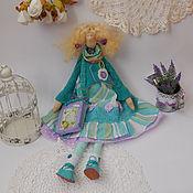 Куклы и игрушки ручной работы. Ярмарка Мастеров - ручная работа Николь, мятная забава. Handmade.
