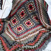 Для дома и интерьера ручной работы. Ярмарка Мастеров - ручная работа Покрывало большое шерстяное. Handmade.