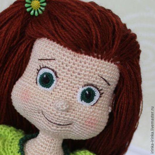Человечки ручной работы. Ярмарка Мастеров - ручная работа. Купить Вязаная кукла Анютка. Handmade. Комбинированный, сувенир, интерьер