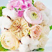 """Цветы и флористика ручной работы. Ярмарка Мастеров - ручная работа Букет невесты """"Chic"""". Handmade."""