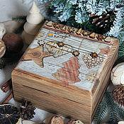 """Подарки к праздникам ручной работы. Ярмарка Мастеров - ручная работа Короб для хранения """"Эко"""". Handmade."""