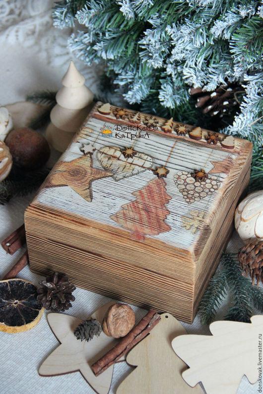 """Новый год 2017 ручной работы. Ярмарка Мастеров - ручная работа. Купить Короб для хранения """"Эко"""". Handmade. Короб для хранения, для орехов"""