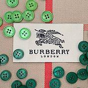 Материалы для творчества handmade. Livemaster - original item Buttons in the style of Burberry. Handmade.