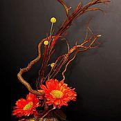 """Цветы и флористика ручной работы. Ярмарка Мастеров - ручная работа Композиция """"Настроение"""". Handmade."""