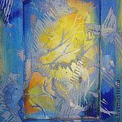 """Картины и панно ручной работы. Ярмарка Мастеров - ручная работа Картина-миниатюра """"Цвет света"""". Handmade."""
