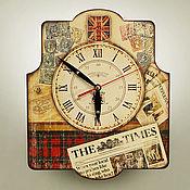 Для дома и интерьера ручной работы. Ярмарка Мастеров - ручная работа часы настенные Лондон. Handmade.