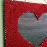 Панно из нитей и гвоздей - Ярмарка Мастеров - ручная работа, handmade